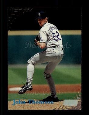 1998 Topps Stadium Club #335  John Thomson