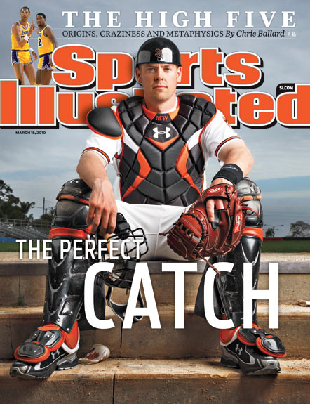 2010 Sports Illustrated - With Label   March 15  -  The Perfect Catch