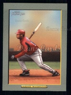 2005 Topps Turkey Red #224  Terrmel Sledge