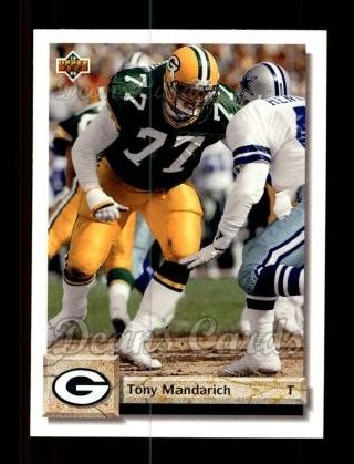 1992 Upper Deck #237  Tony Mandarich