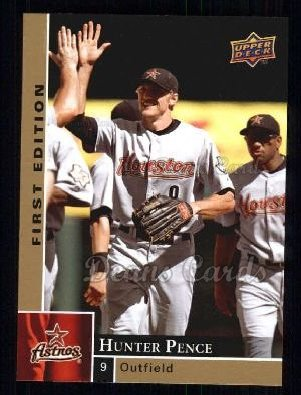 2009 Upper Deck First Edition #119  Hunter Pence