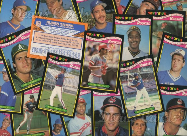 1987 Toys R Us     Baseball Complete Set