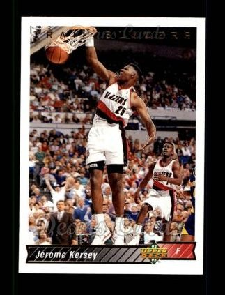 1992 Upper Deck #145  Jerome Kersey