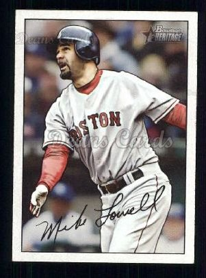 2007 Bowman Heritage #14  Mike Lowell