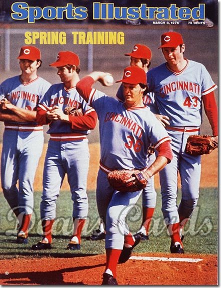 1975 Sports Illustrated - With Label   March 3  -  Cincinnati Reds