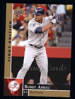 2009 Upper Deck First Edition #204  Bobby Abreu