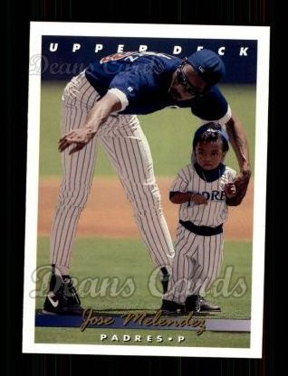 1993 Upper Deck #288  Jose Melendez