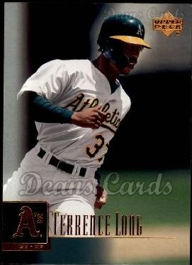 2001 Upper Deck #57  Terrence Long