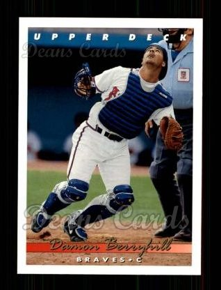 1993 Upper Deck #606  Damon Berryhill