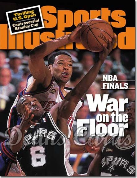 1999 Sports Illustrated   June 28  -  Marcus Camby (Knicks) Avery Johnson (Spurs)