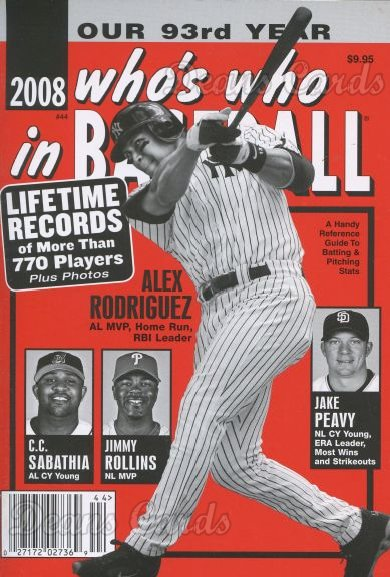 2008 Who's Who in Baseball   -  Alex Rodriguez