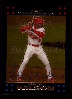 2007 Topps Chrome #5  Preston Wilson