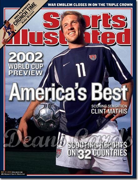 2002 Sports Illustrated   May 27  -  Clint Mathis USA Soccer