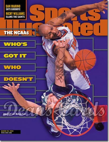 2000 Sports Illustrated   March 20  -  Marcus Fizer Iowa State Cyclones