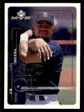 1999 Upper Deck MVP #178  Ruben Rivera