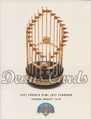 1993 Toronto Blue Jays Yearbook - Trophy