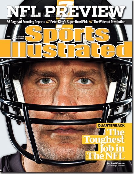 2009 Sports Illustrated - With Label   September 7  -  Aaron Rodgers