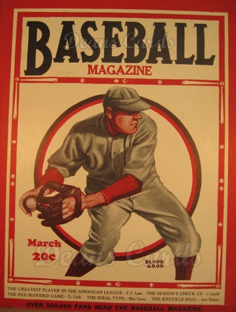1931 Baseball Magazine    March