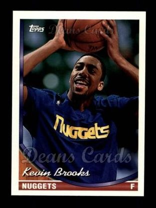 1993 Topps #32  Kevin Brooks