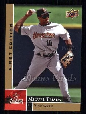 2009 Upper Deck First Edition #124  Miguel Tejada