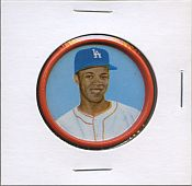 1963 Salada Metal Coins #20  Maury Wills