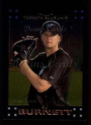 2007 Topps Chrome #123  A.J. Burnett