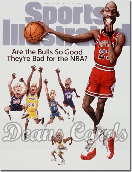 1997 Sports Illustrated - With Label   March 10  -  Michael Jordan (Chicago Bulls)