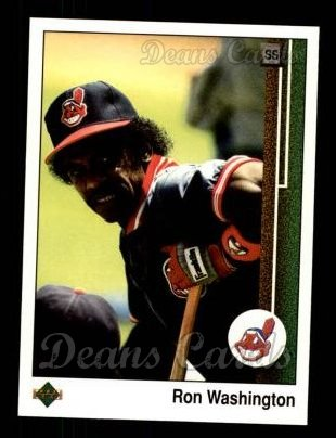 1989 Upper Deck #519  Ron Washington