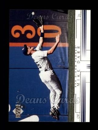 2002 Upper Deck #405  Mike Darr