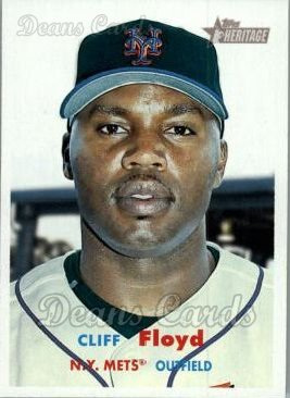 2006 Topps Heritage #160  Cliff Floyd