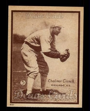 1931 W517 Reprint #5  Chalmer Cissell