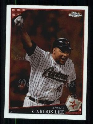 2009 Topps Chrome #122  Carlos Lee