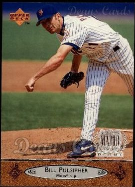 1996 Upper Deck #139  Bill Pulsipher