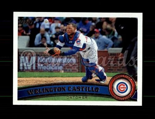 2011 Topps Update #16  Welington Castillo