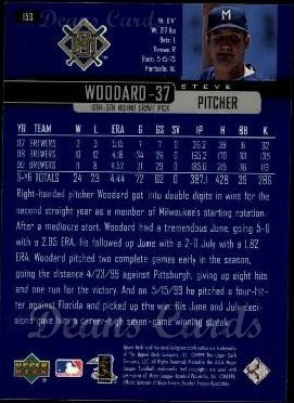 2000 Upper Deck #153  Steve Woodard