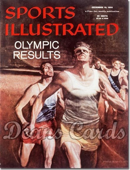 1956 Sports Illustrated - No Label   December 10  -  Olympic Track & Field Runners