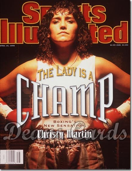 1996 Sports Illustrated - With Label   April 15  -  Christy Martin