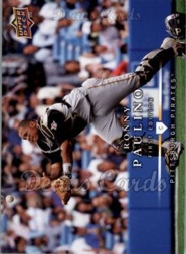 2008 Upper Deck First Edition #170  Ronny Paulino