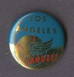 1964 Cranes Potato Chip Pin #10   Los Angeles Angels
