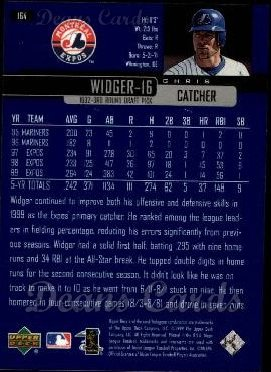 2000 Upper Deck #164  Chris Widger