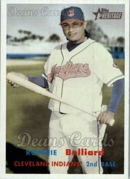 2006 Topps Heritage #393  Ronnie Belliard