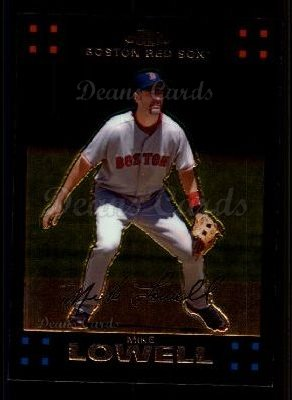 2007 Topps Chrome #44  Mike Lowell