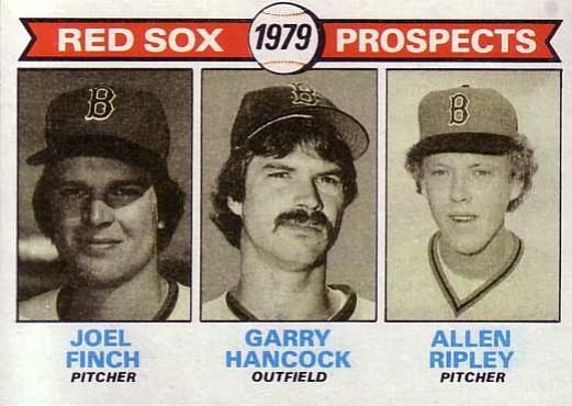 1979 Topps #702   -  Joel Finch / Garry Hancock / Allen Ripley Red Sox Prospects