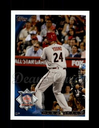 2010 Topps Update #124  Chris Young
