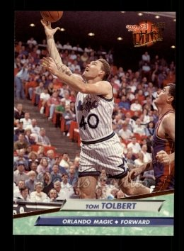 1992 Fleer Ultra #329  Tom Tolbert