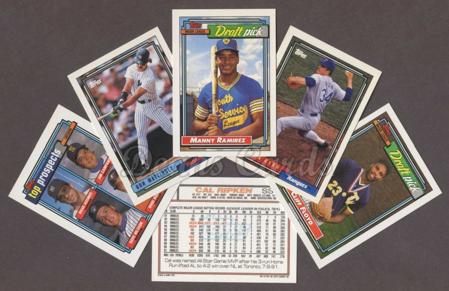 1992 Topps     Baseball Factory Sealed Complete Set