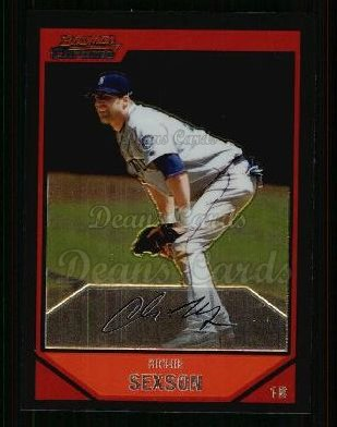 2007 Bowman Chrome #103  Richie Sexson