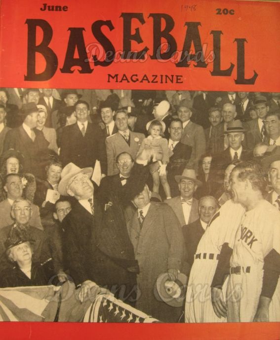 1948 Baseball Magazine    June
