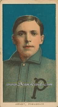 1909 T206 Reprint #13  Harry Arndt