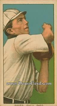 1909 T206 Reprint #15  Home Run Baker